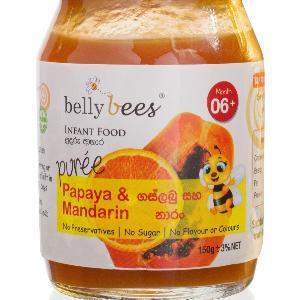 Belly Bees Puree Papaya Mandarin