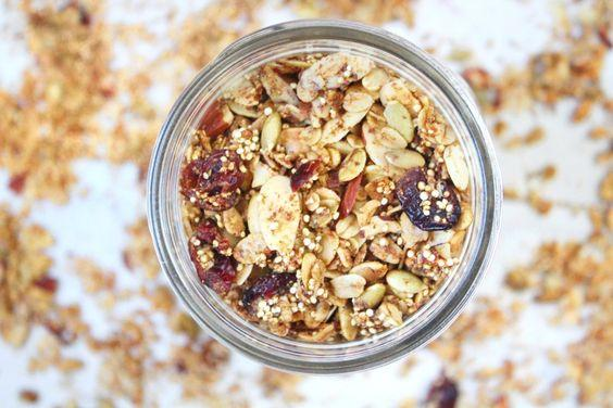 Quinoa Granola with Cranberry by Dips & Spreads 600g