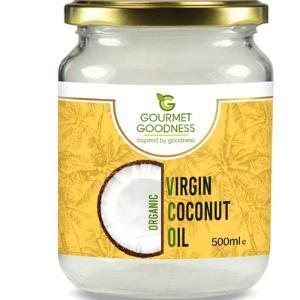 Organic Virgin Coconut Oil 500ml by Gourmet Goodness