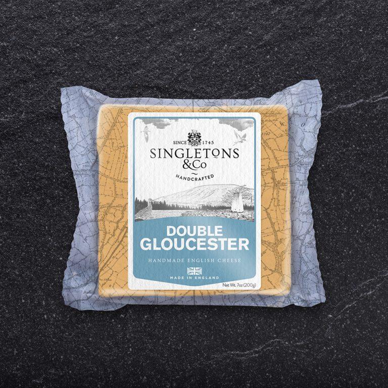 Singleton's Double Gloucester 200g