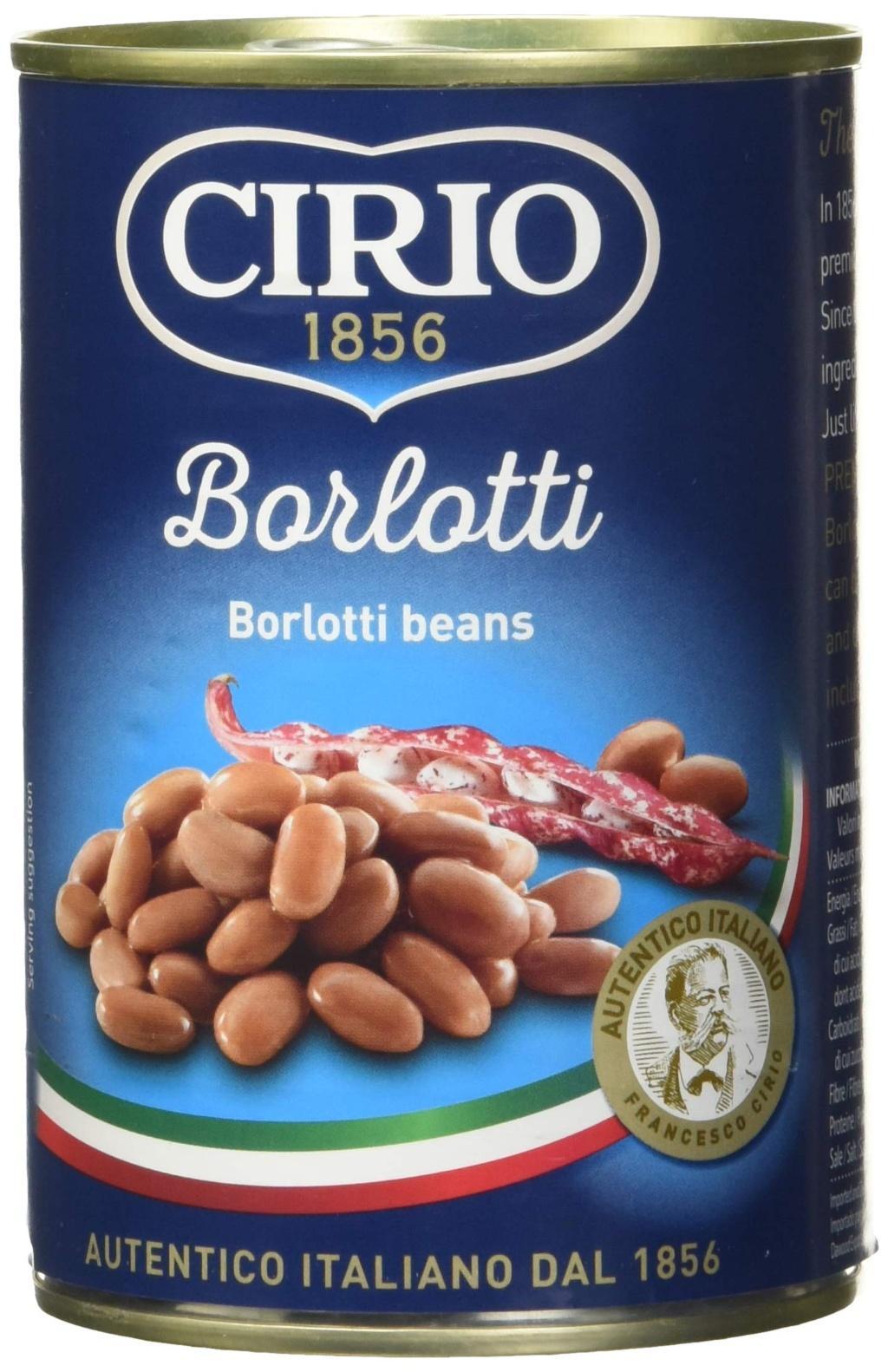 Cirio Borlotti Beans 410g