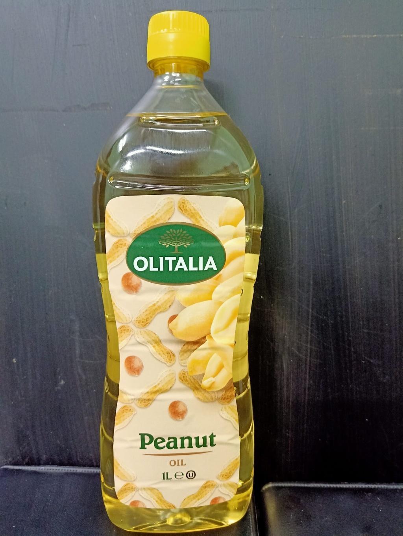 Peanut Oil Olitalia (1 lt)