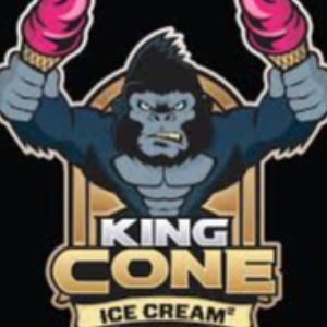 King Cone Double Dutch Ice Cream