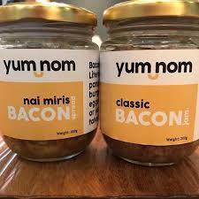 Yum nom Bacon nai miris spread 200g