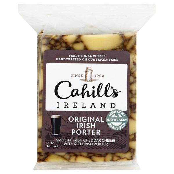 Cahill's Original Irish porter cheddar 200g