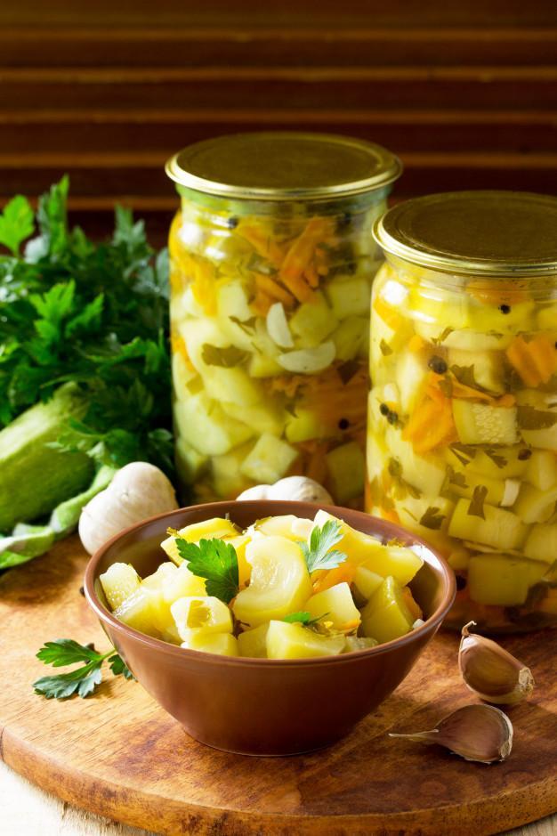 Pickled Zucchini 300g