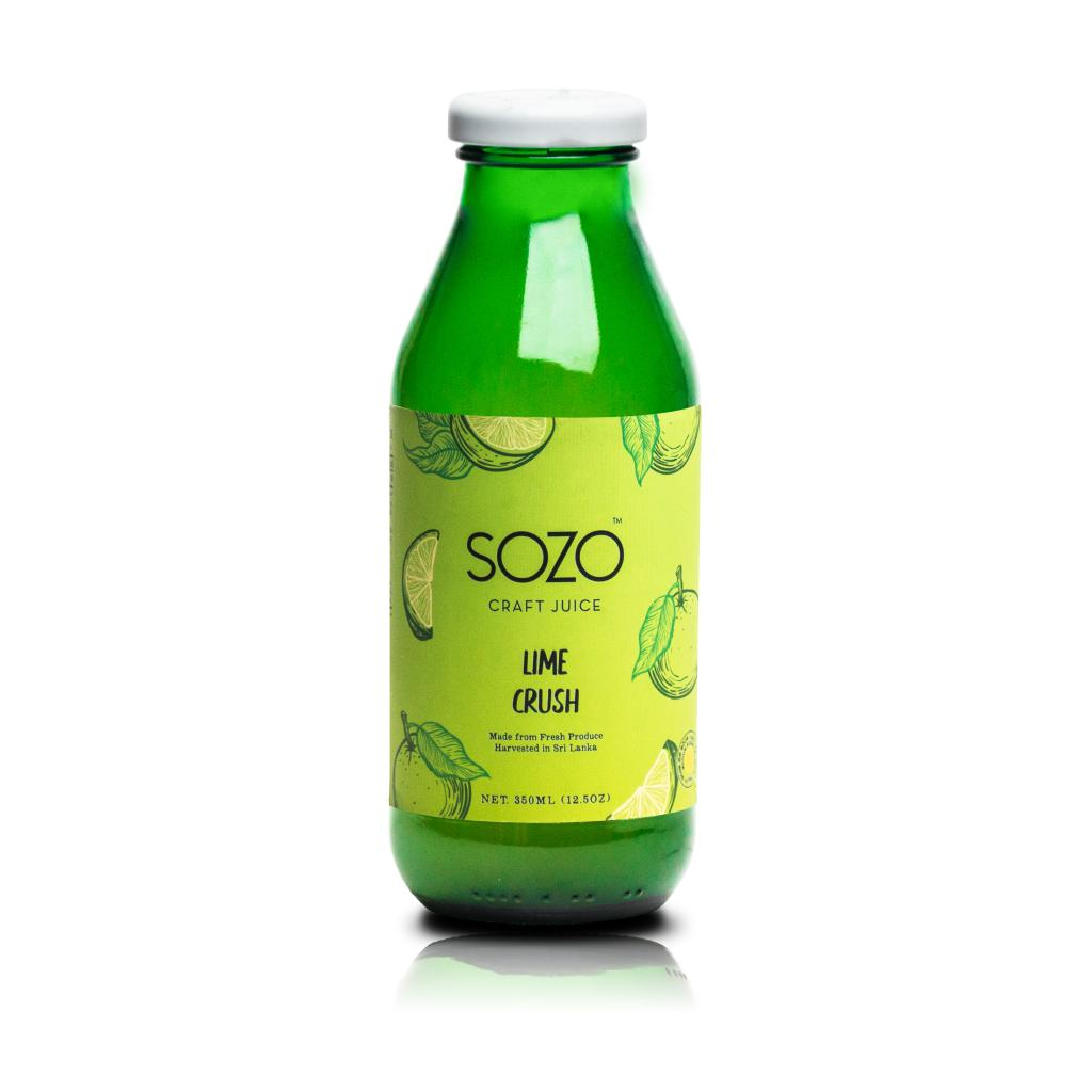 SOZO Lime Crush 350ml