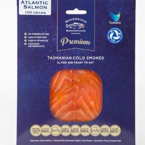 Tasmanian Cold Smoked Salmon 100g