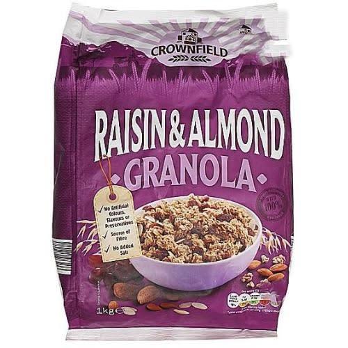 Crownfield Granola Raisin and Almond 1kg