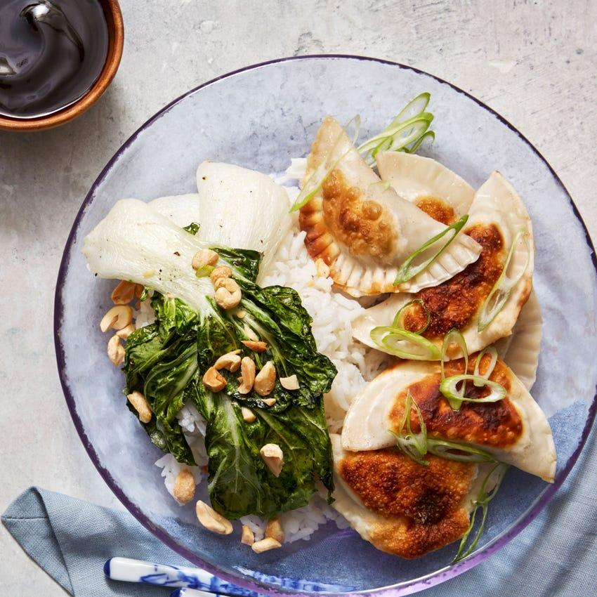 Hungry Dumpling Pak Choi & Mushroom Dumplings 10 Pieces