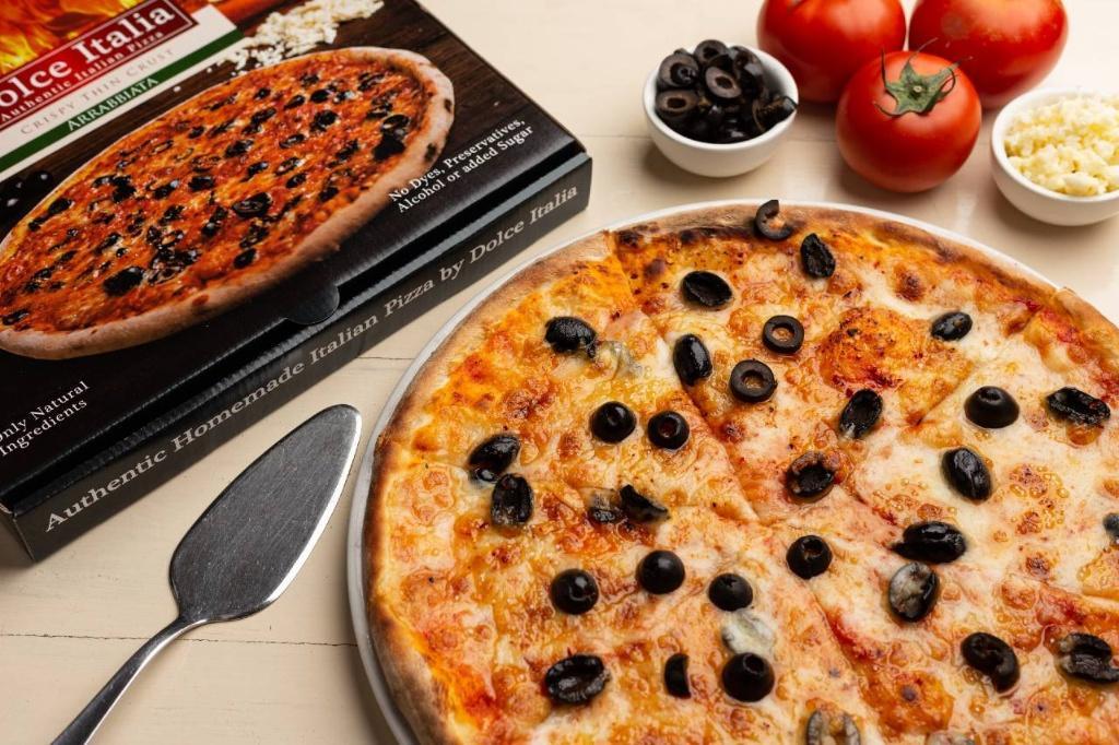 Dolce Italia Frozen Spicy Arrabiata Pizza 10
