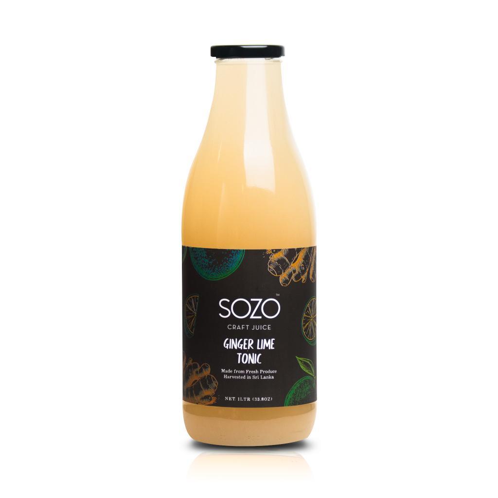 SOZO Ginger Lime Tonic 1L