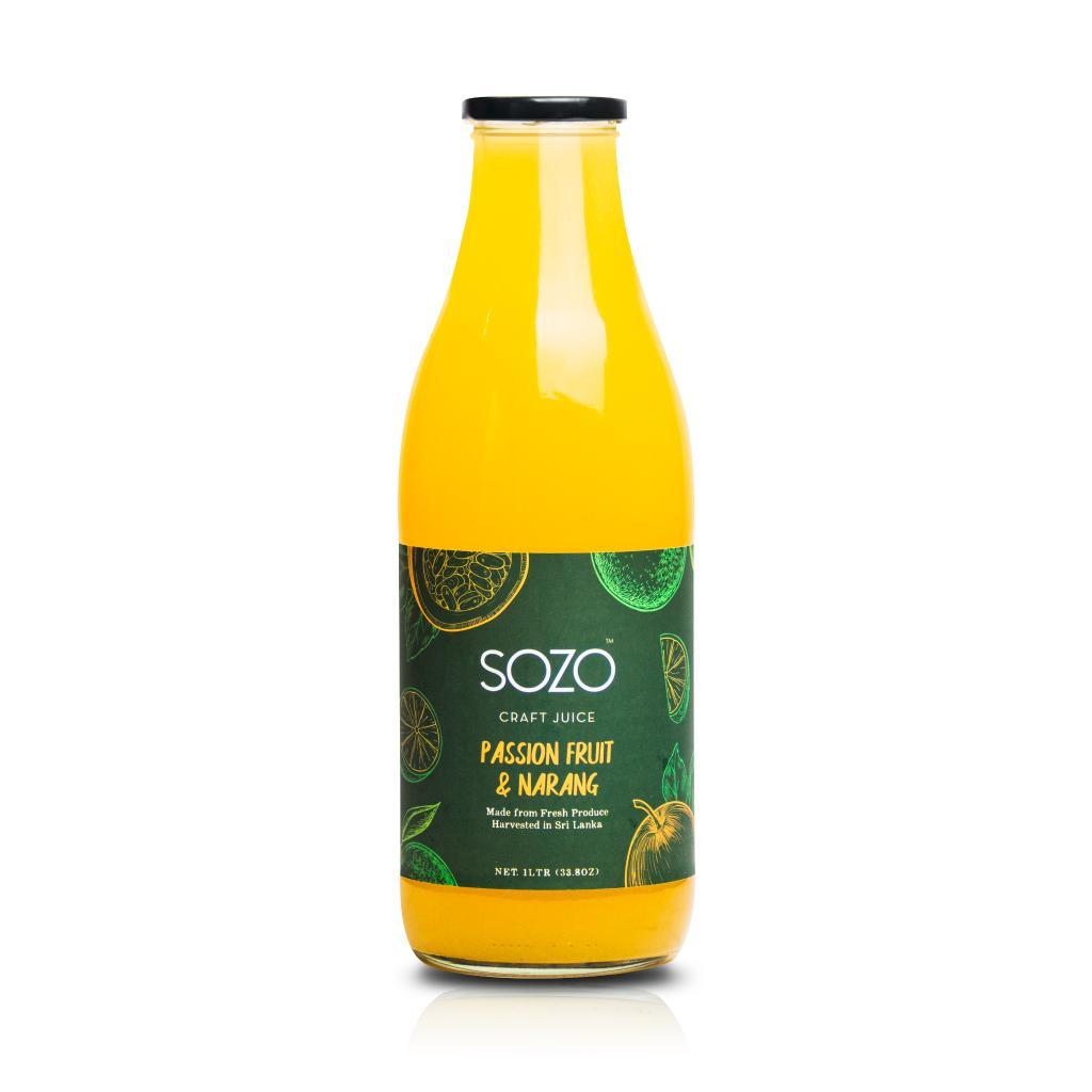 SOZO Passionfruit & Narang 1L