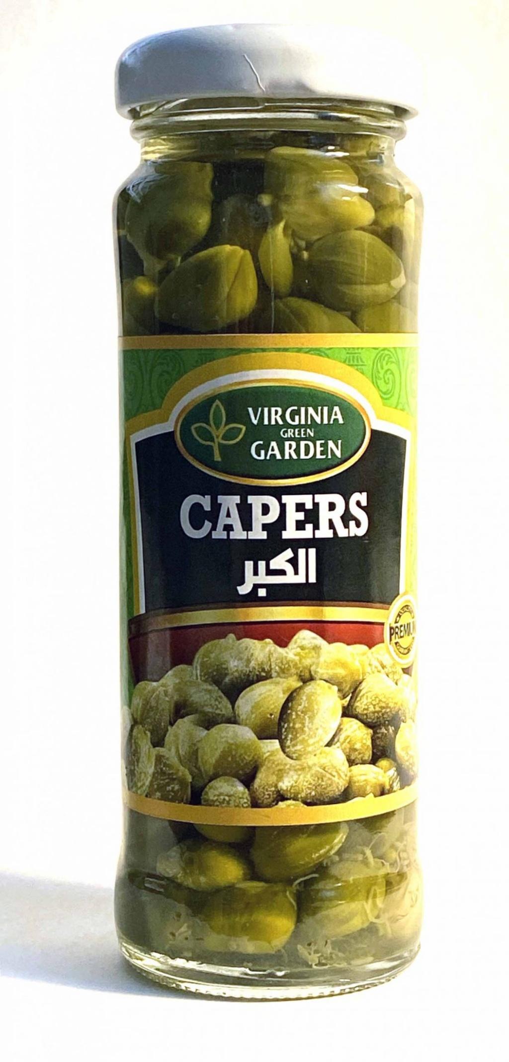 Virginia Green Garden Capers 60g