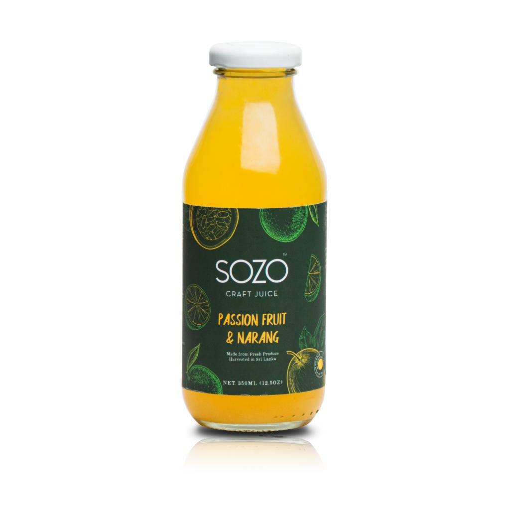 SOZO Passionfruit & Narang 350ml