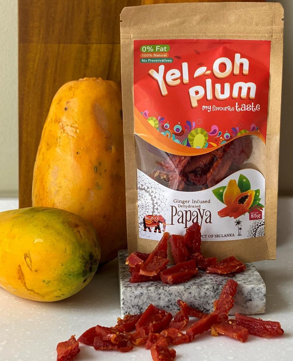 Image for Dehydrated Papaya 85g