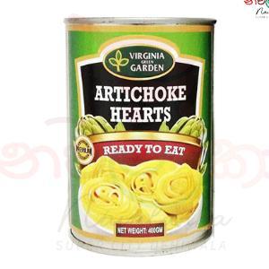Virginia Green Garden Artichoke Hearts 400g