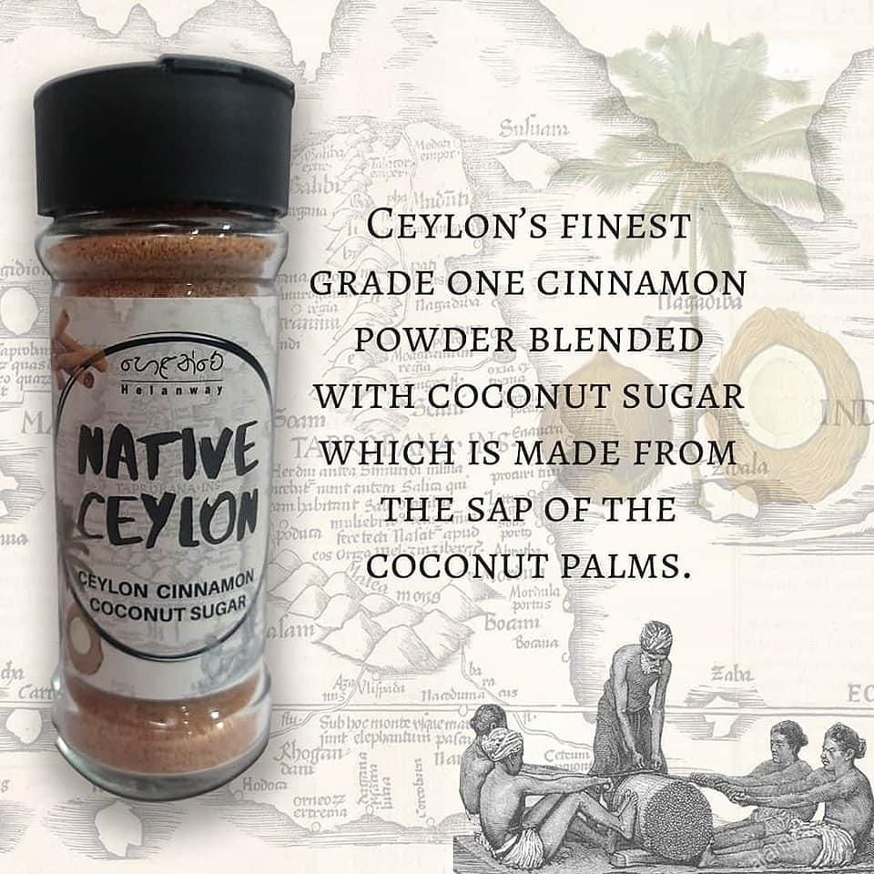 Ceylon Cinnamon Coconut sugar 50g