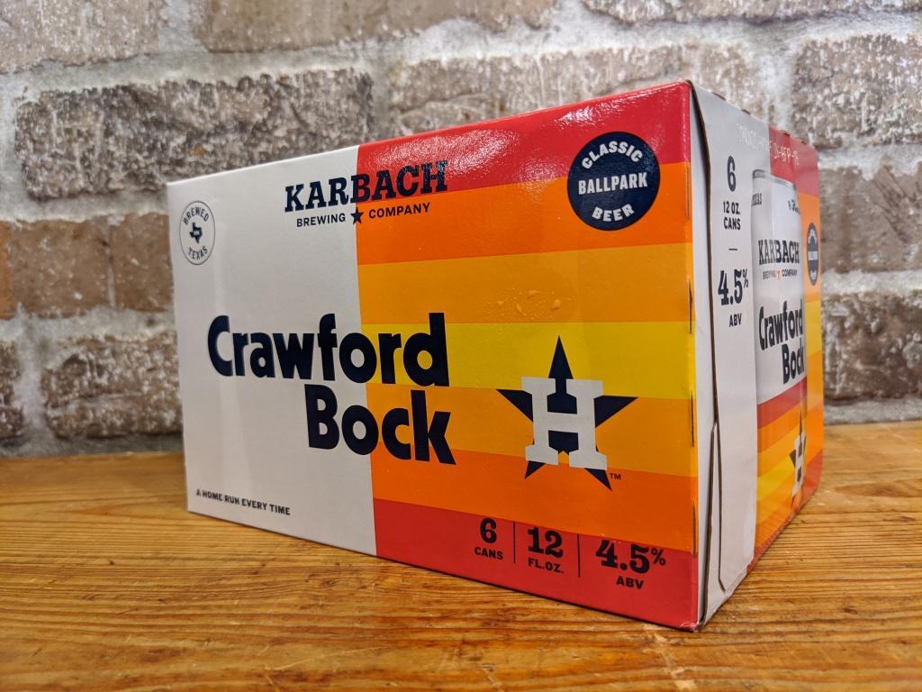 Karbach Crawford Bock 6-Pack