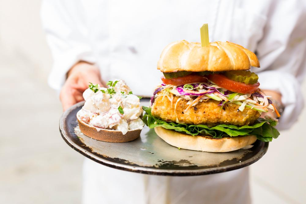 Kamtastic Fried Chicken Sandwich