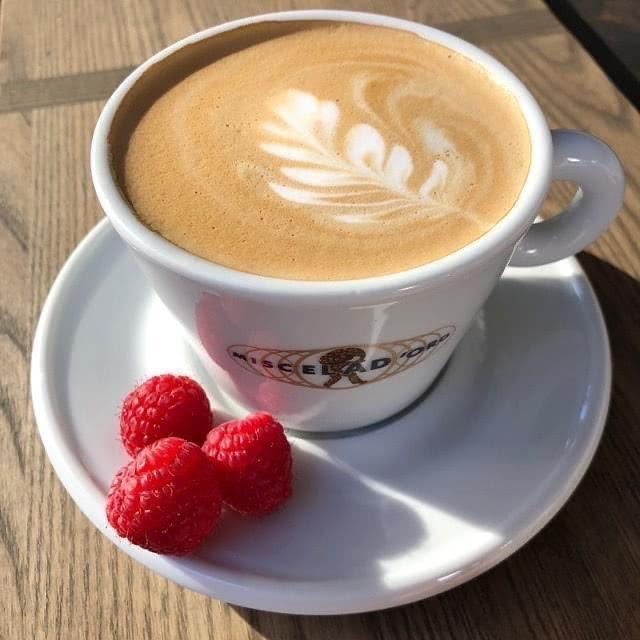 Berries & Cream Cappuccino (Hot or Iced)