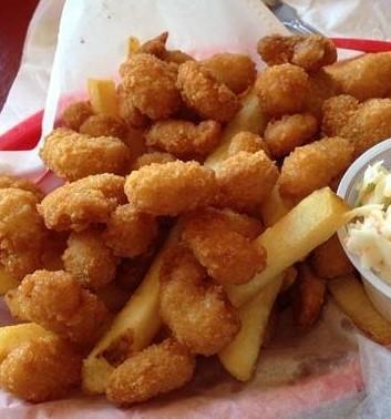Popcorn Shrimp Basket