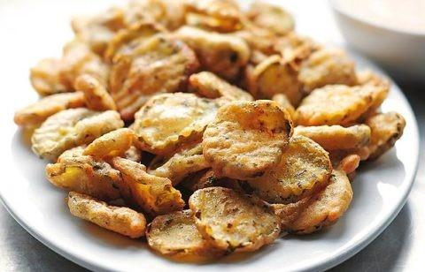 Hand Breaded Fried Pickles