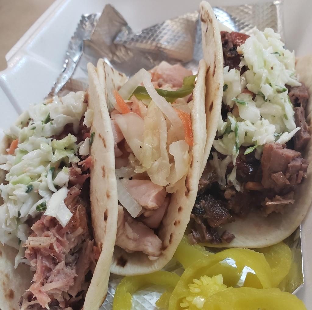 Street Tacos Plate (3 Tacos)