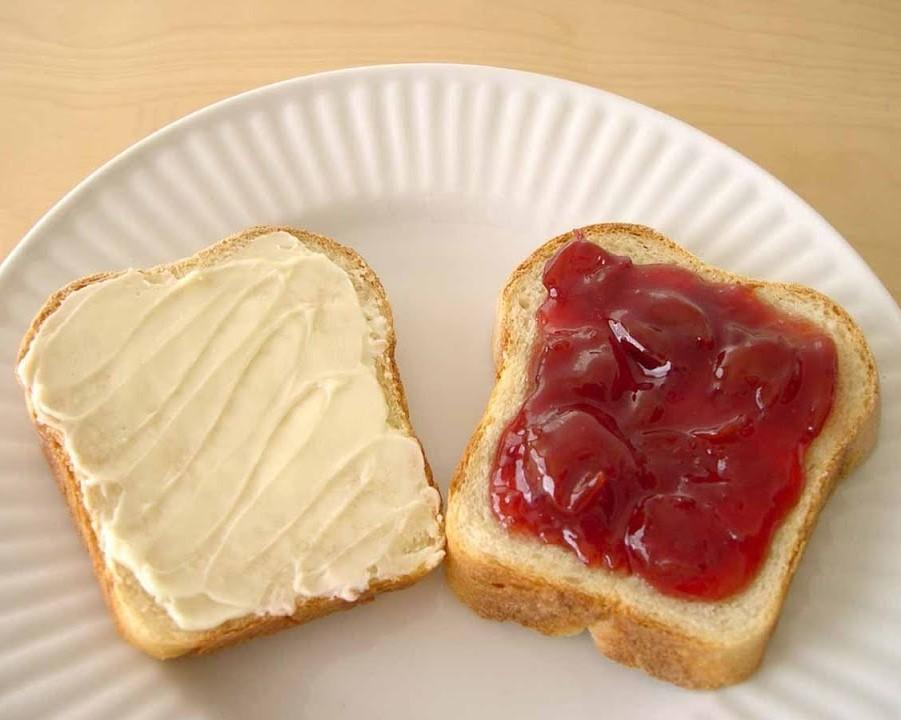 Side Of Jam And Butter