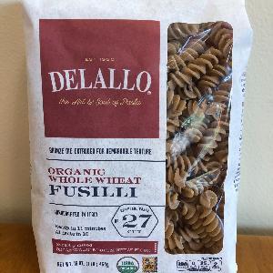 DeLallo Org. WW Fusilli #27