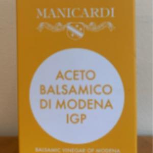 Manicardi Balsamic Vinegar Di Modena IGP 8.5oz.