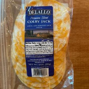 DeLallo Colby Sliced 8oz.