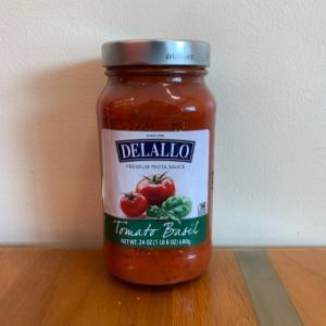 DeLallo Tomato Basil Sauce24oz.