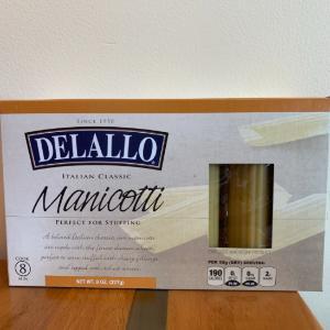 Delallo Manicotti