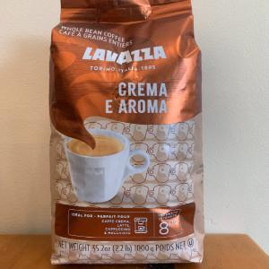 LaVazza Crema E Aroma Espresso Beans 2.2lb.