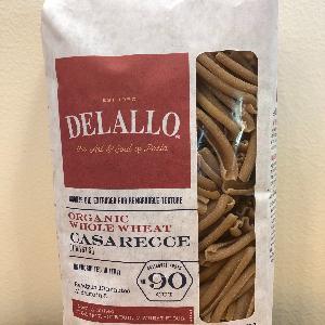 DeLallo Organic WW Casarecce #90