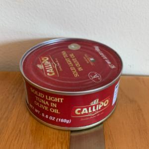 Callipo Solid Light Tuna in Olive oil 5.6 oz
