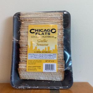 Chicago Flats Gourmet Flatbread Garlic Sesame