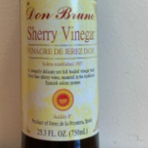 Don Bruno Sherry Vinegar 25.3oz.
