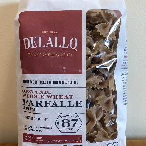 DeLallo Org. WW Farfalle #87