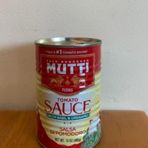 Mutti Tomato Sauce 14oz.
