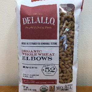 DeLallo Org. WW Elbows #52