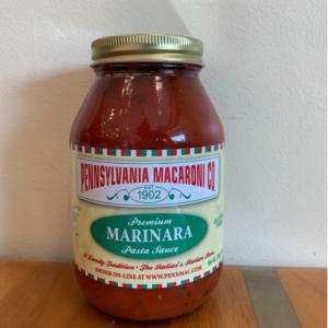 Pennsylvania Macaroni Co. Marinara Pasta Sauce
