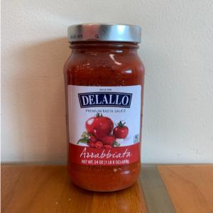 DeLallo Arrabiatta Pasta Sauce 24oz.
