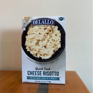 DeLallo Cheese Risotto Quick Cook