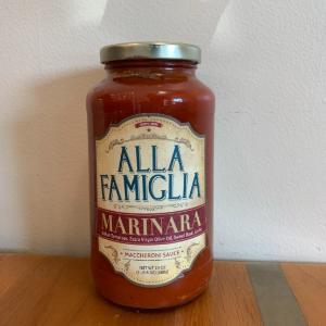 Alla Famiglia Marinara Sauce 24 oz