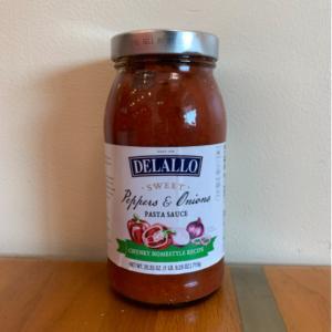 DeLallo Sweet Pepper/Onion Pasta Sauce 25.5oz.