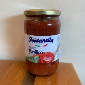 Fontanella Basilico Sauce 24oz.