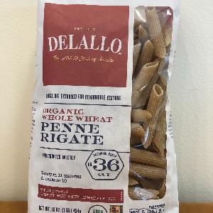 DeLallo Org. WW Penne Rigate # 36