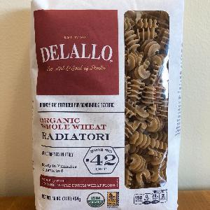 DeLallo Organic WW Radiatori #42
